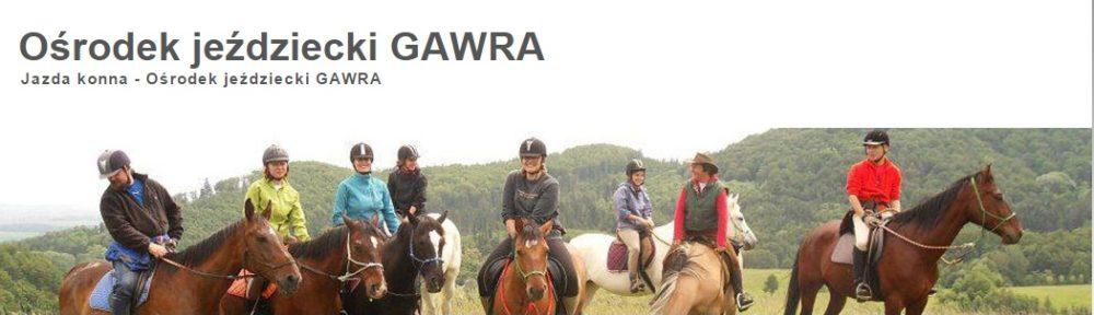 """Ośrodek jeździecki """"Gawra"""""""